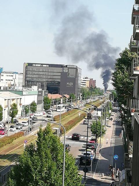 Incendio Tangenziale Est 4-2