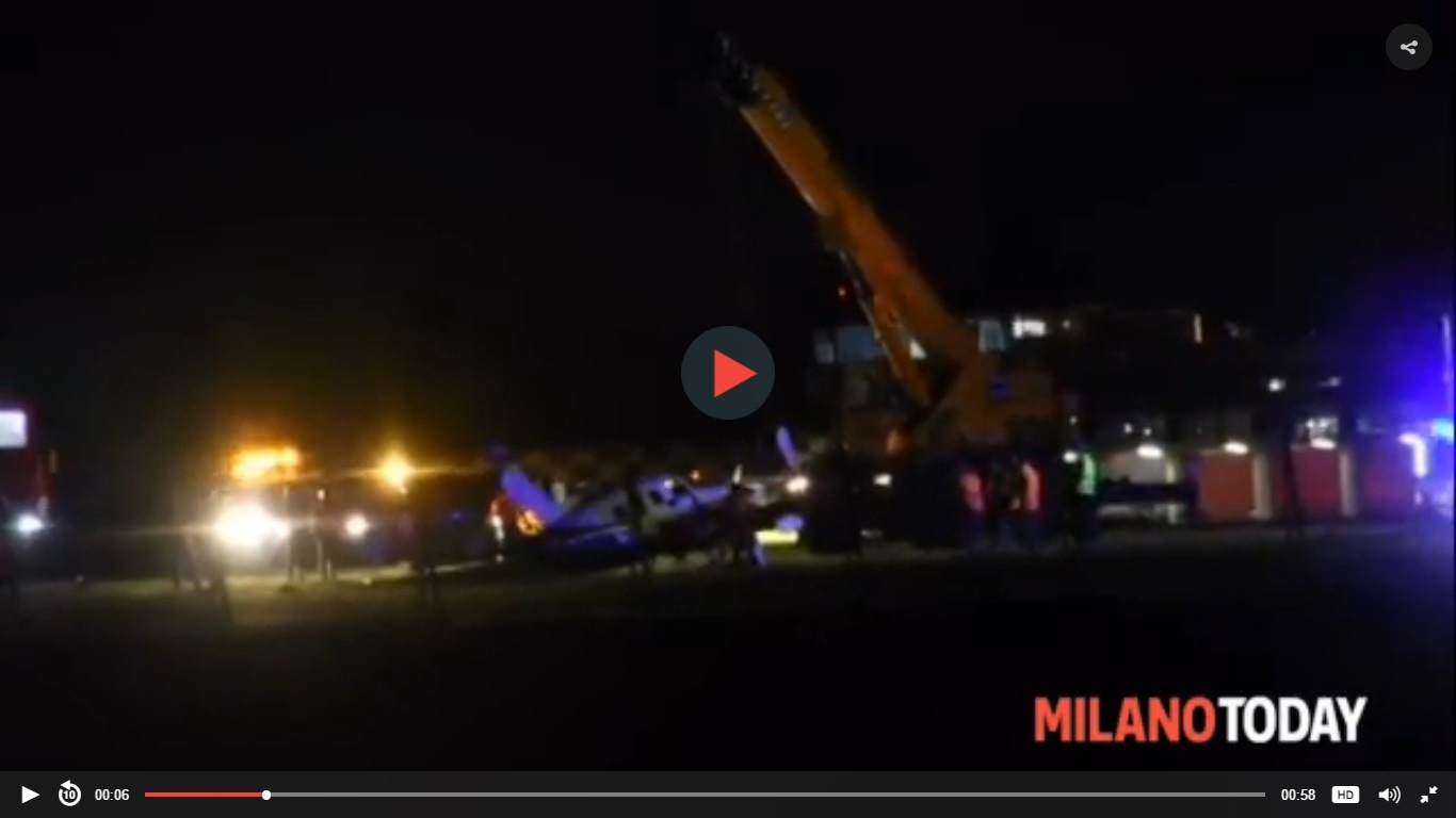 Incidente linate video-2