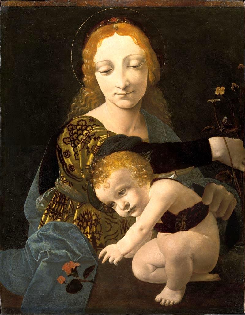 2. Museo Poldi Pezzoli Boltraffio Madonna col Bambino-2