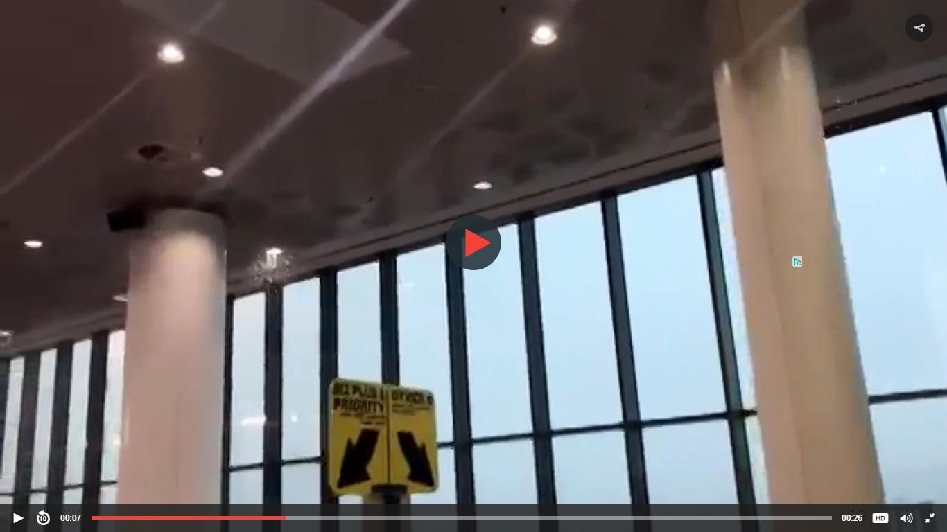 Bomba D Acqua Nel Bergamasco Allagato L Aeroporto Di Orio Al Serio
