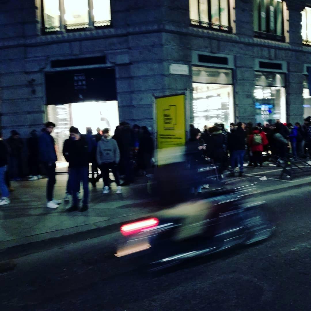 Coda da NikeLab St18 Milano di Latente