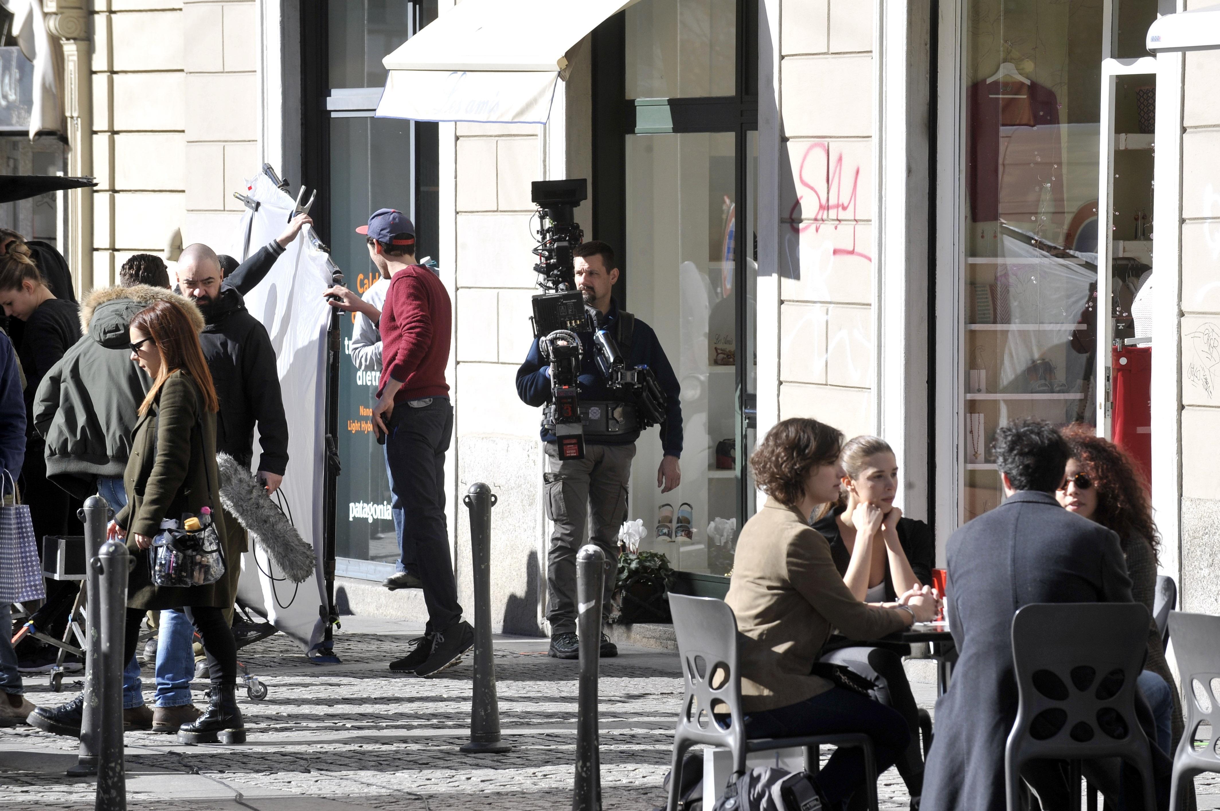 Set cinematografici. Film, Tv girati a Milano (4)-2