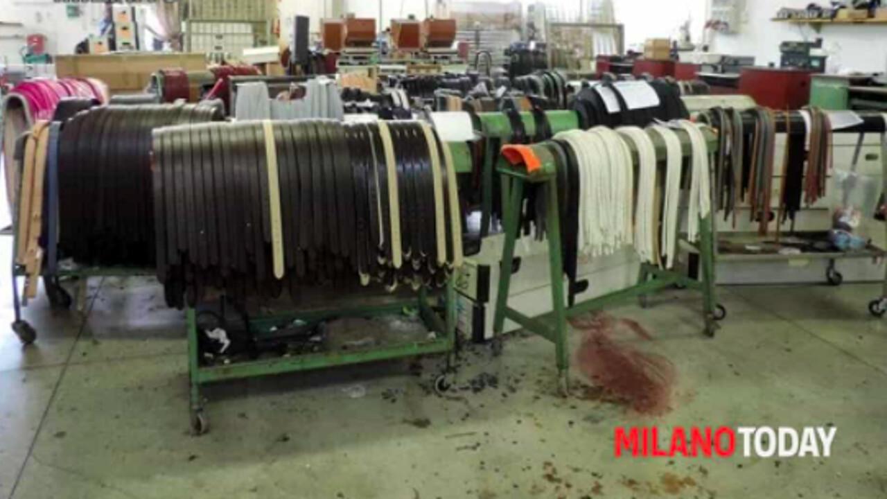 La fabbrica milanese degli orrori per produrre gli abiti delle grandi marche (con un neonato)
