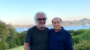 Berlusconi torna dalla Sardegna: doppio tampone per lui, aveva incontrato anche Briatore