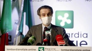 """""""Siamo vicini alla zona rossa, rischiamo di passarci presto"""": l'allarme di Attilio Fontana"""