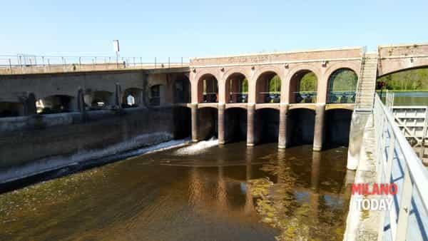 L'acqua nel canale Villoresi
