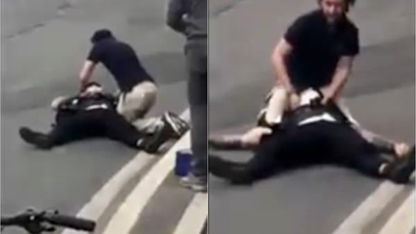 """Milano, Brumotti preso a bastonate: """"Ho perso conoscenza"""". Il video dell'aggressione"""