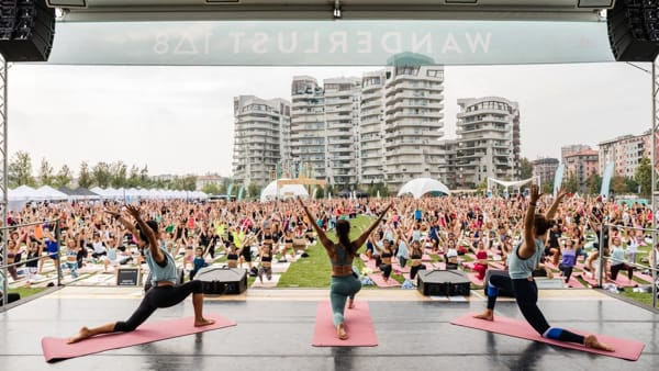 """Corsa, yoga e meditazione: a Milano torna """"Wanderlust 108"""""""