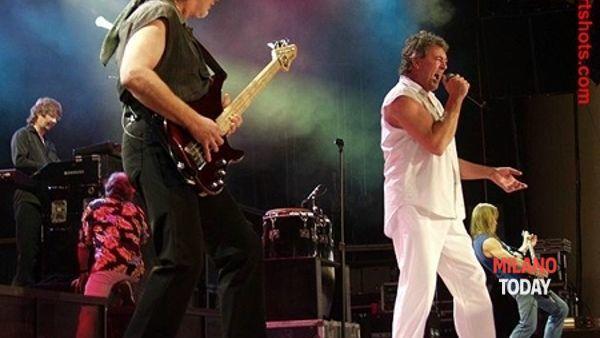 Deep Purple in concerto al Mediolanum Forum