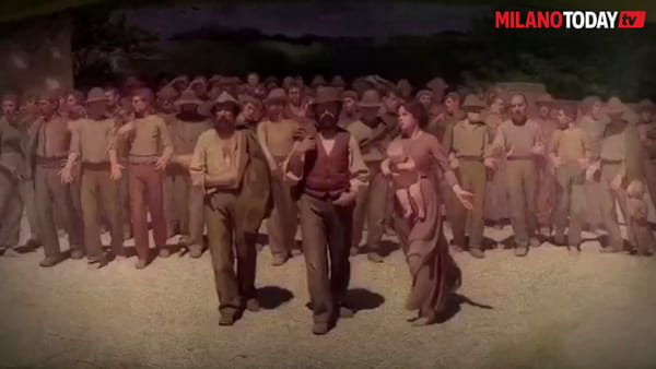 """Sala al Museo del '900 mostra il dipinto 'Il quarto stato': """"Faremo di tutto per dare lavoro ai milanesi"""""""