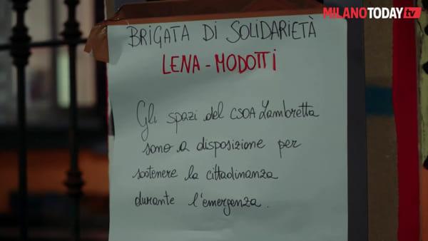 Coronavirus, pizze ai senzatetto e spesa per gli anziani: ecco la Milano solidale della Brigata Lena-Modotti