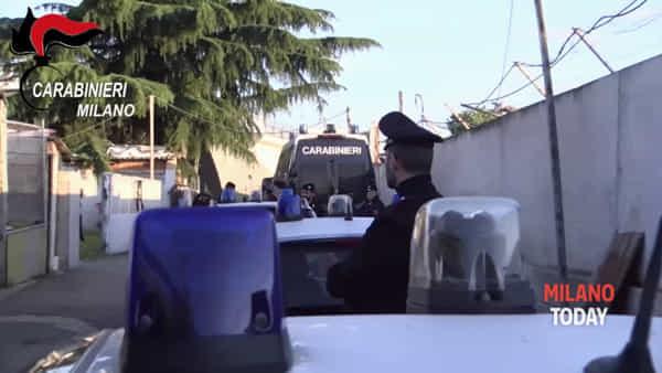 Furti in casa, 9 arresti. I carabinieri setacciano il campo rom di Monte Bisbino