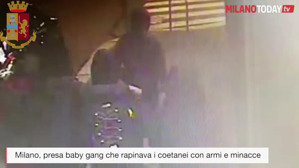 Milano, presa baby gang che rapinava coetanei minorenni costringendoli a collaborare in altri furti