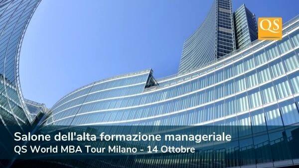 Esclusivo evento MBA a Milano: QS World MBA Tour