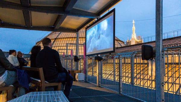 Cinema sui tetti della Galleria