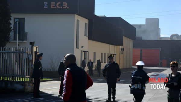 La fabbrica dove si è verificata l'esplosione (foto B&V Photographers)
