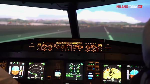 Milano Malpensa, dentro il nuovo simulatore di volo CAE per addestrare i piloti EasyJet