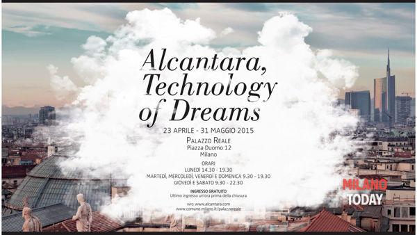 """Alcantara,technology of dreams"": mostra a Palazzo Reale dal 23 aprile"