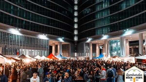 """""""Lombardia Beer Fest"""": dal 22 al 25 marzo birre artigianali, musica e street food tornano in piazza Città di Lombardia"""
