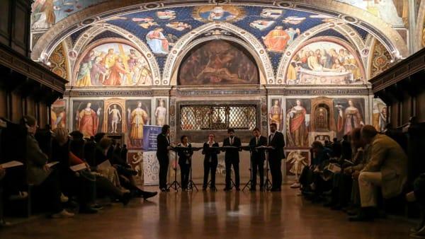 Concerto e visita agli affreschi cinquecenteschi: gratis il 29 settembre