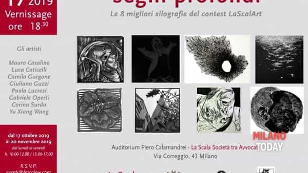 """""""Segni profondi"""": le migliori xilografie dei partecipanti di lascalart youth artist contest all'auditorium """"Piero calamandrei"""""""