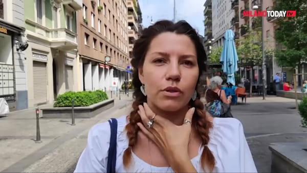 Accoltellata alla gola in centro a Milano: il racconto della donna che l'ha salvata