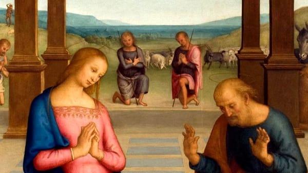 """Fino al 28 gennaio """"L'adorazione dei pastori"""" di Perugino è in mostra al Museo Diocesano"""