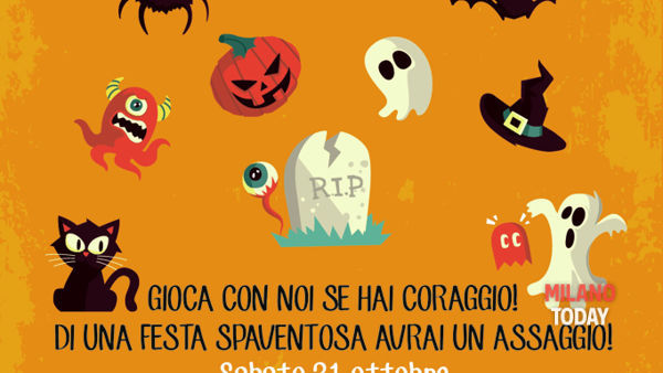 """Trick or treat?"": halloween party per bambini"