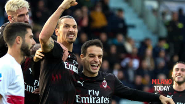 Video gol Milan Cagliari, gli highlights del match vinto 2 a 0