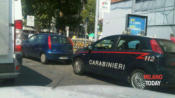 Carabinieri all'ex Maestoso