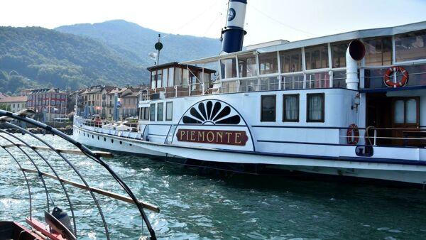 Un'esperienza unica a bordo di uno storico piroscafo sul Lago Maggiore