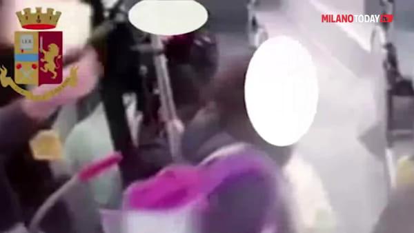 Milano, 21enne sparò con la scacciacani sull'autobus: il video choc della Polizia di Stato