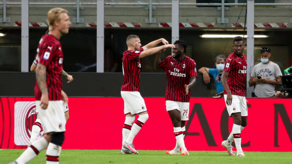 Video gol e sintesi partita Milan-Juventus 4-2
