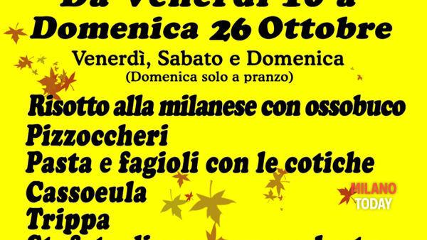 Sagra della cassoeula e della trippa: fino al 26 ottobre a Senago