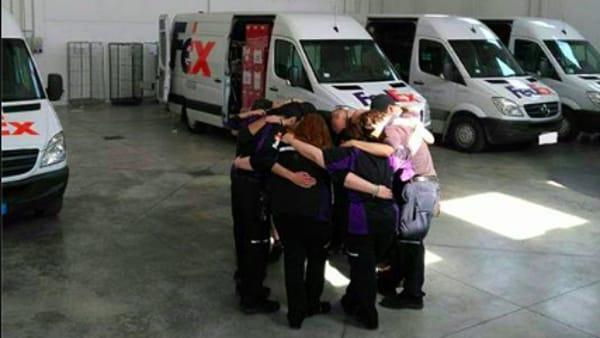 I lavoratori Fedex