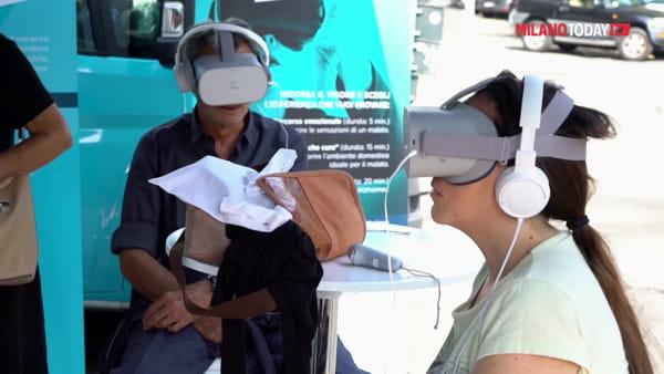 """""""Fermata Alzheimer"""", la malattia vista attraverso la realtà virtuale: a Milano e Monza l'iniziativa di Korian"""