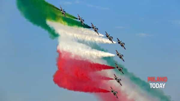 Domenica lo spettacolo delle Frecce tricolori a Linate: l'anteprima dello show