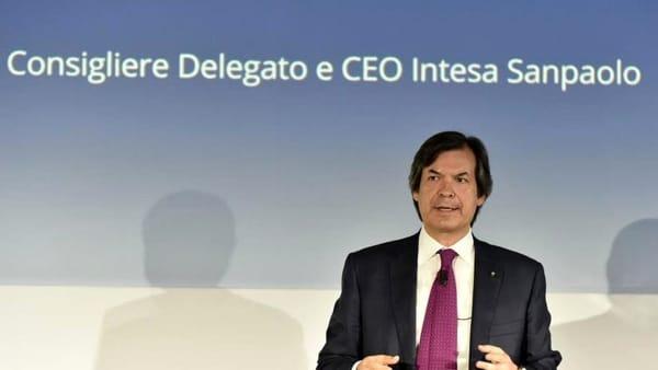 Il Ceo e Consigliere Delegato di Intesa Sanpaolo, Carlo Messina