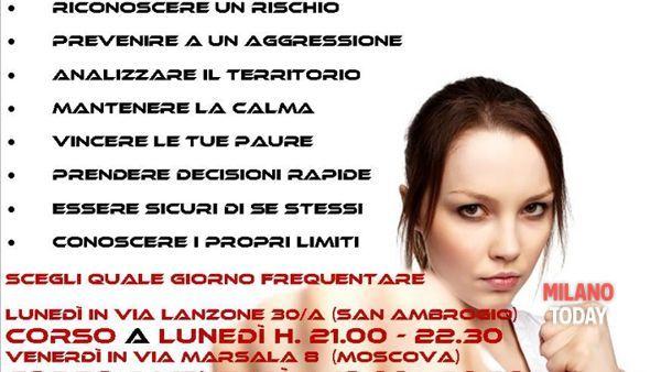 Corso di difesa personale: a Milano da venerdì 8 maggio