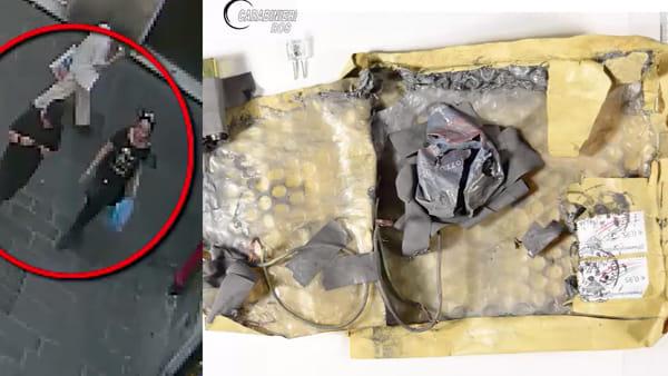 Due presunti responsabili e uno dei pacchi bomba