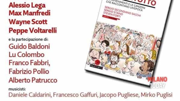 A Milano lo spettacolo vent'anni di sessantotto con Alessio Lega, Max Manfredi, Wayne Scott e Peppe Voltarelli