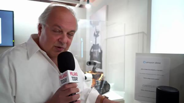 Milano, al via la mostra 'Io, Robotto': il mondo di Mazinga e Goldrake spiegato da Amazon Alexa