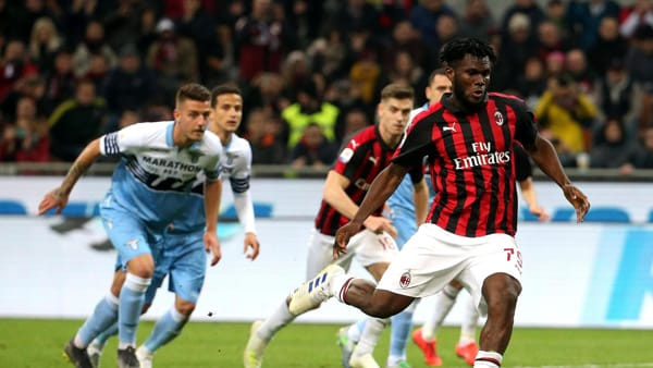 Video gol e sintesi partita Crotone-Milan 0-2: Kessiè e Diaz