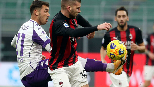 Video gol e highlights Milan-Fiorentina 2-0: segnano Romagnoli e Kessié