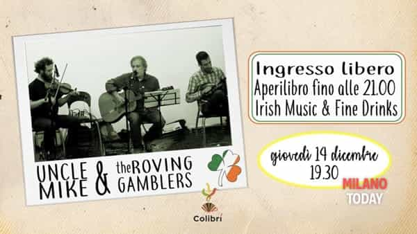 Colibrì irish live * Uncle mike & the roving gamblers