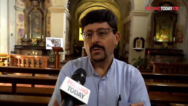 """Squilibrato vuole bruciare chiesa del '500 a Rozzano, al parroco: """"Finisci come Notre Dame"""""""