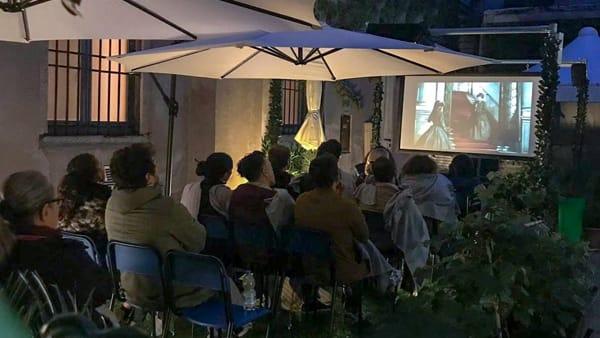 Cinema in un Giardino Segreto