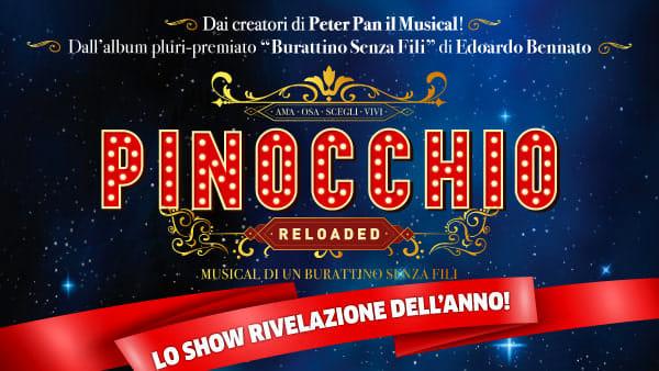"""""""Pinocchio Reloaded - Musical di un burattino senza fili"""" arriva all'Arcimboldi"""
