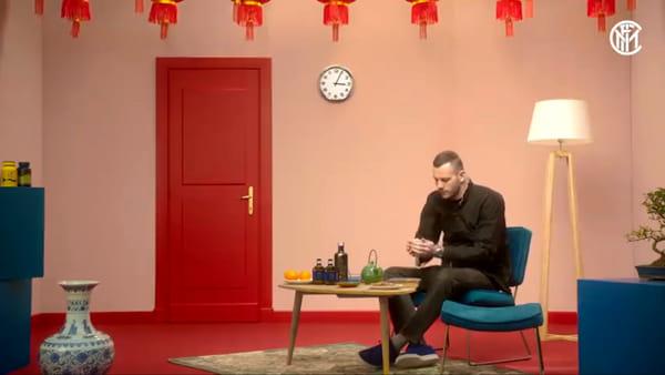 Capodanno cinese a Milano, l'Inter lo festeggia in un video con il capitano Handanovic