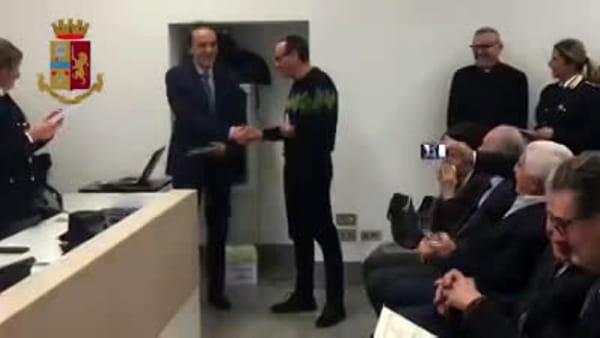 Milano, 63 nuovi poliziotti in servizio: l'applauso e il benvenuto del Questore